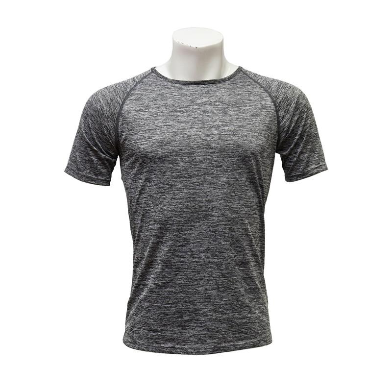 Female Raglan-sleeved Round-neck Short-sleeved Cation Polyester Anti-odor Running Jersey