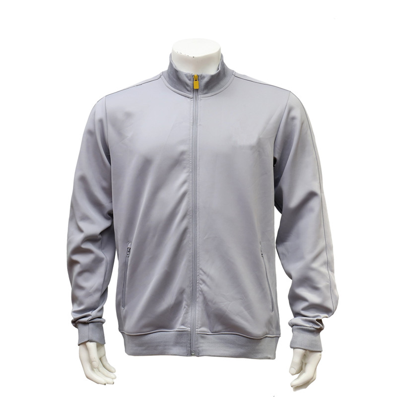 Men's Long-sleeved Stand-collar Zip-up Fast Dry Cricket Jacket