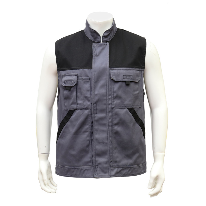 Outdoor Staff Water-proof Uniform Vest with Pockets