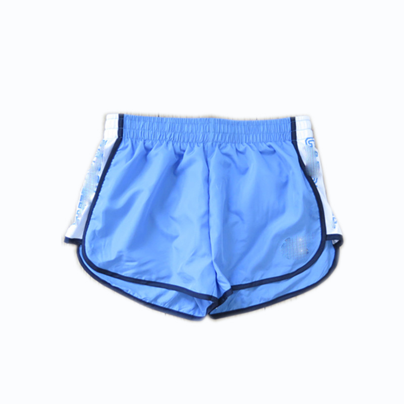 Women's Woven Polyester Shorts for Running Marathon