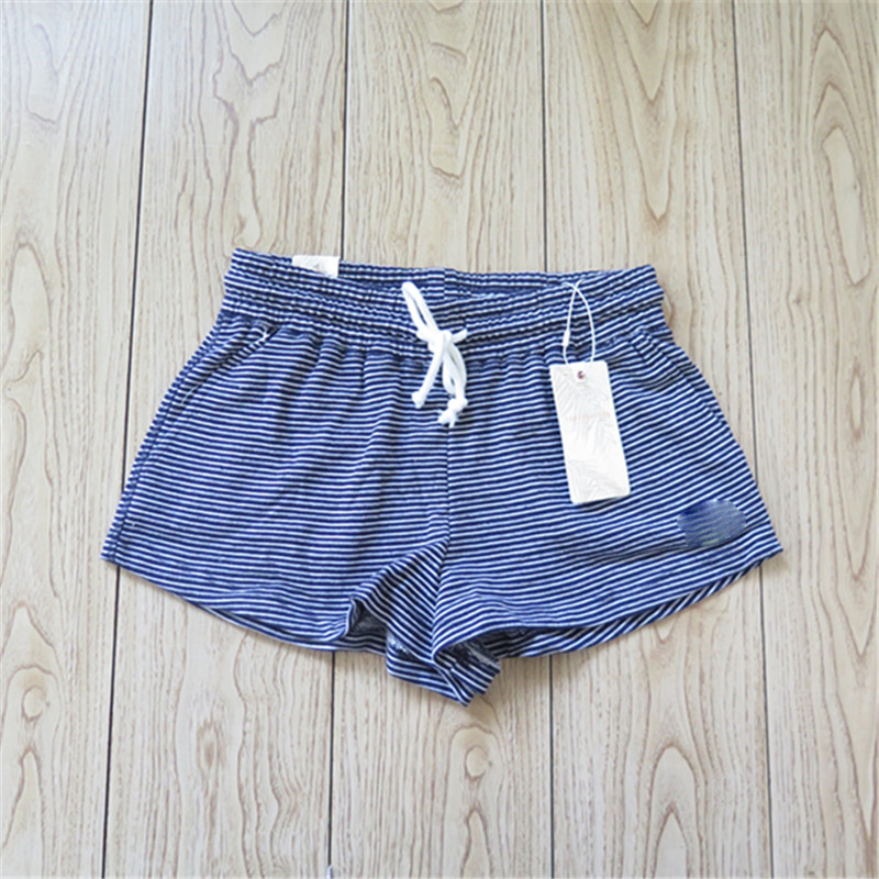 Women's Cotton Running Short Shorts with Drawstring