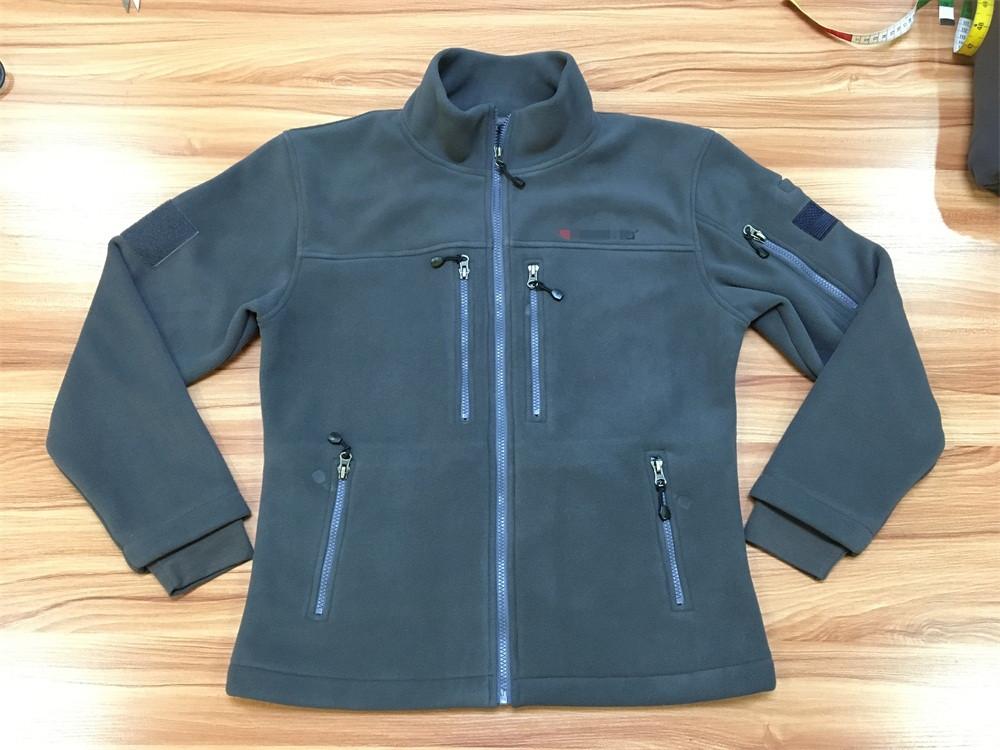 Winter Fleece Jacket with Pockets