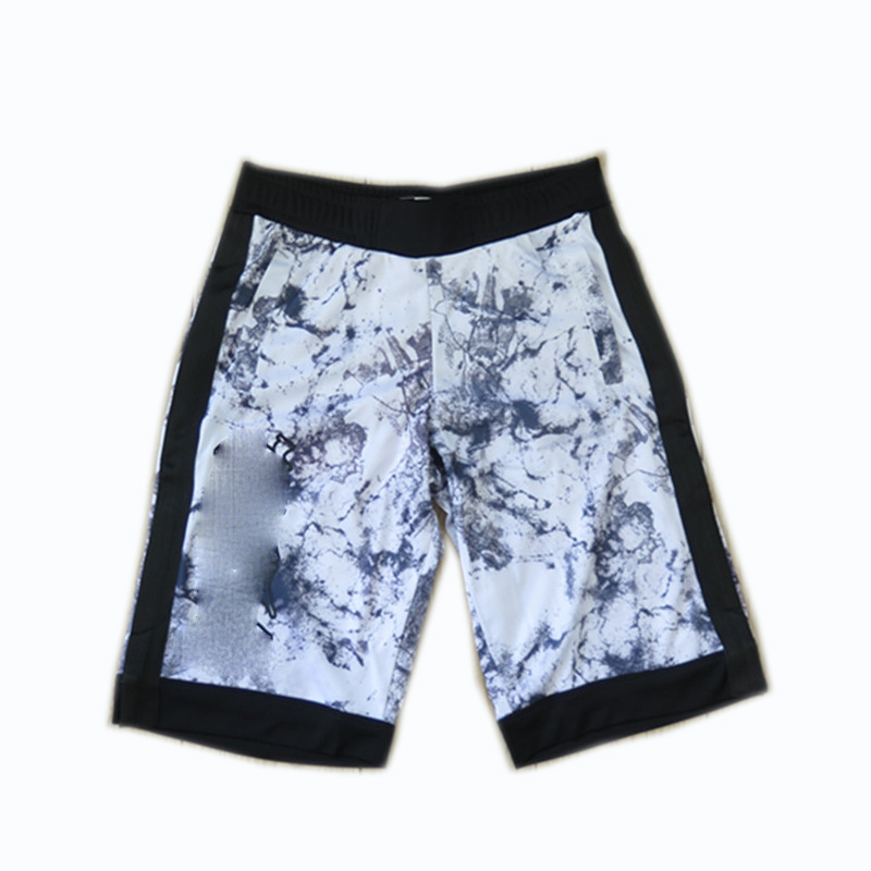 Men's 100% Polyester Sublimation Printed Basketball Shorts